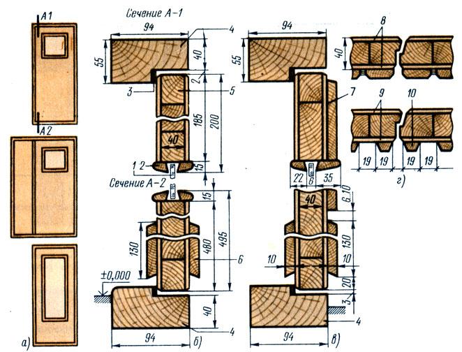 Двери деревянные для жилых и