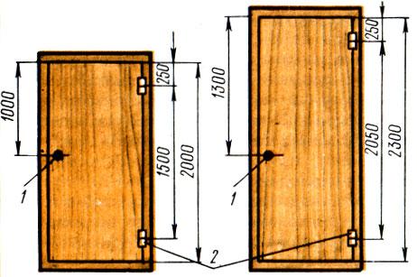 Схема установки приборов на