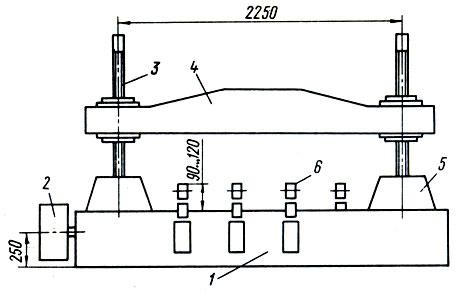 Схема механического пресса: 1